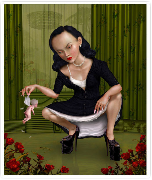 Ray Caesar, 'Troubled Child', 2005, Jonathan LeVine Projects