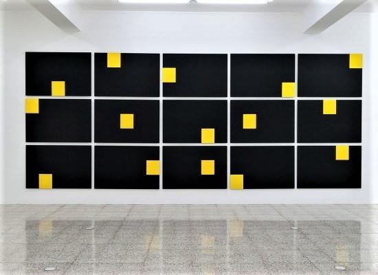 , 'Rectàngulo amarillo fragmentado,' 2016, Magreen Gallery