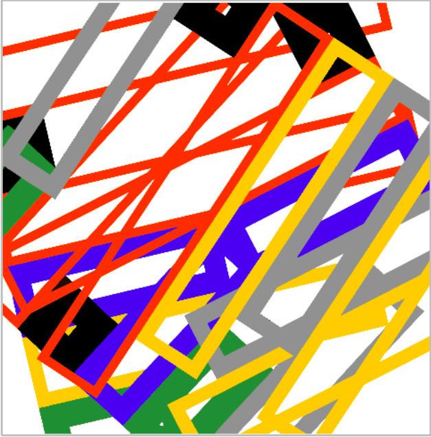András Wolsky, 'Dinamic accidental-geometry', 2009-2013, Ani Molnár Gallery