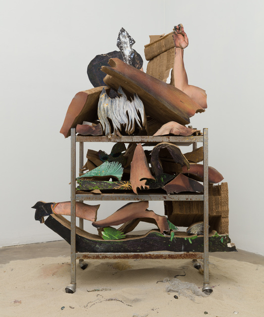 , 'Body Part Cart,' 2018, Klowden Mann
