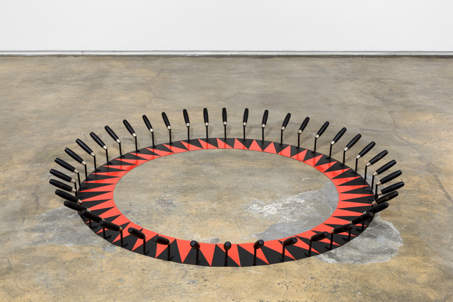 , 'Red and black sun,' 2017, Baginski, Galeria/Projectos