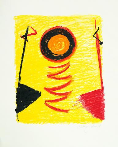 , 'Orange Sun Newlyn,' 2000, The Missing Plinth