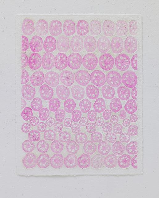 , 'Vegetable Print - Lotus Pink #2,' 2012, STPI