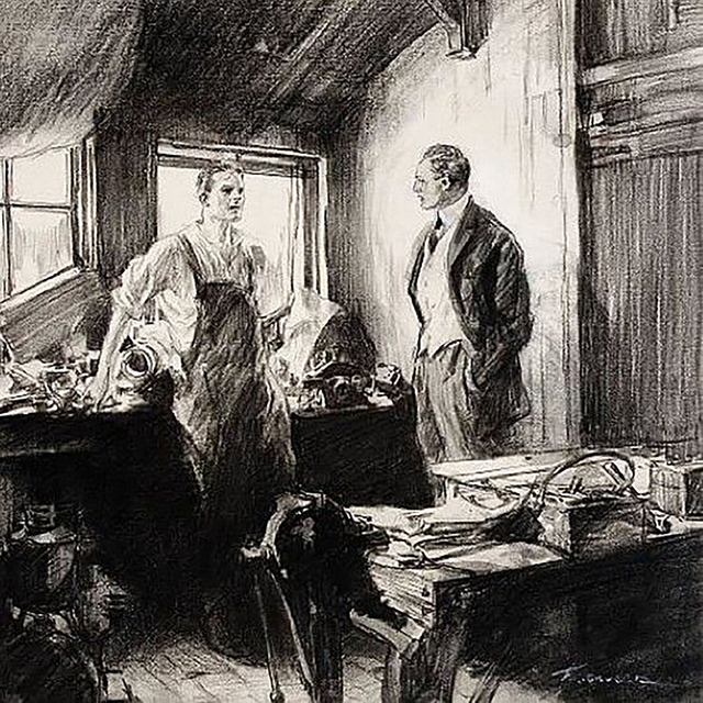 Frederic Gruger, 'Workroom Men', 20th Century, The Illustrated Gallery
