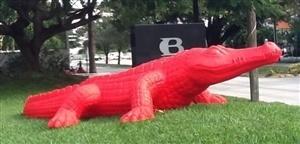 , 'Crocodile,' 2007, Galleria Ca' d'Oro