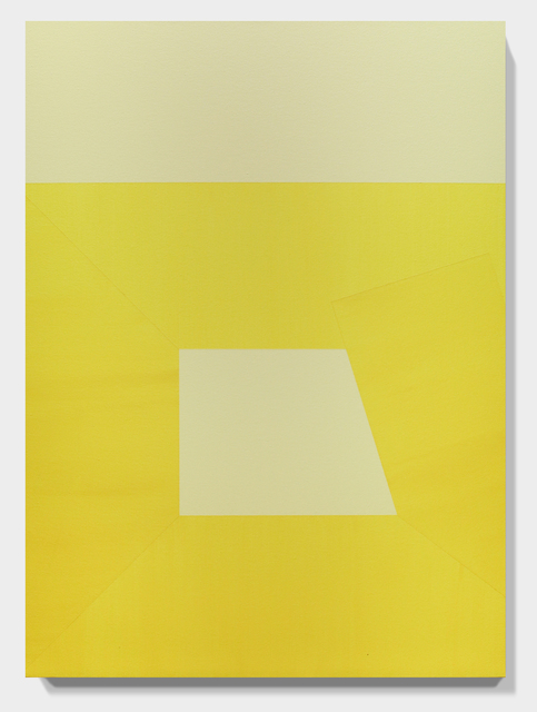 , 'YELLOW Lean on and Against no. 41,' 2016, Paradigm Gallery + Studio