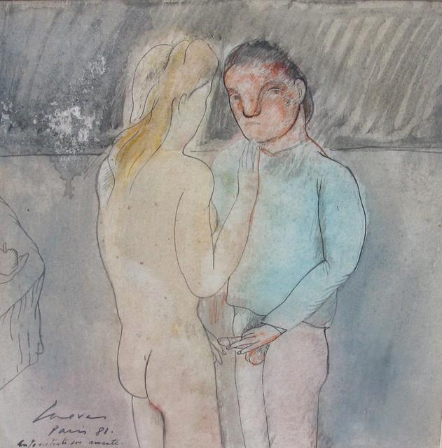 , 'Autorretrato con amante, Paris.,' 1981, Galeria Oscar Roman