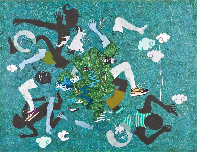 , 'Anniversary -Hand to Hand Combat,' 2013, Aki Gallery