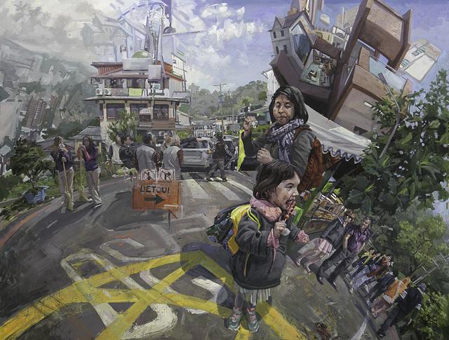 , 'Detour,' , galerie bruno massa