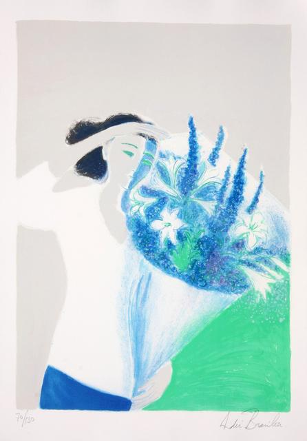 Andre Brasilier, 'Le Bouquet Bleu', ca. 1993, Denis Bloch Fine Art