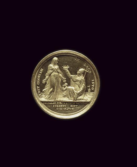, 'Médaille de Savone (Medal of Savona),' 1815, Château de Fontainebleau