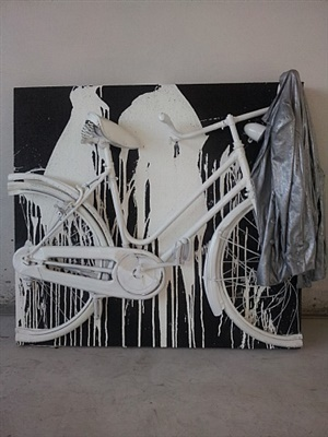 , 'Italian Cycle with Jacket,' 2011, Galleria Ca' d'Oro