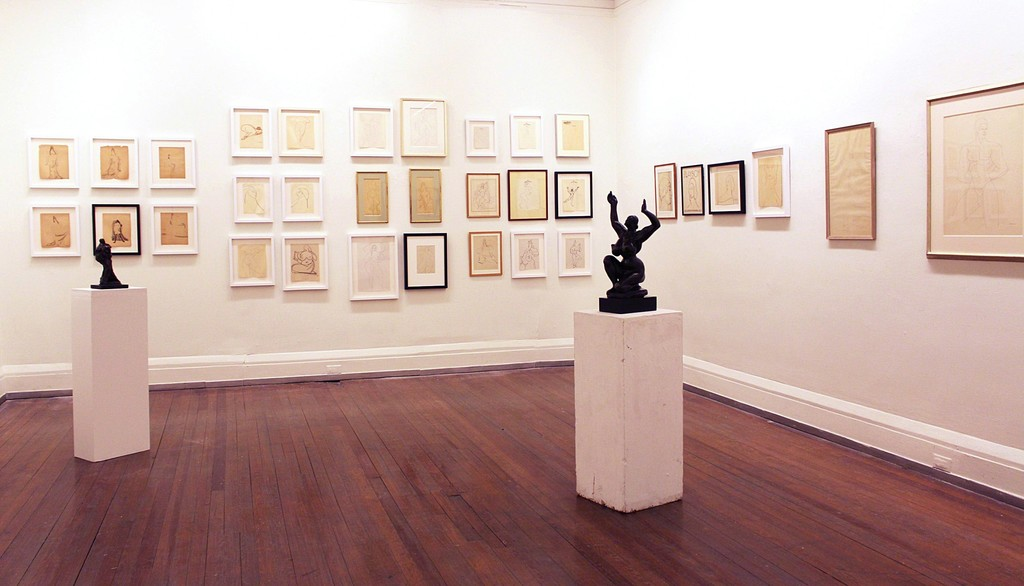 """A Selection of Drawings by Gaston Lachaise,"" curated by Paula Hornbostel