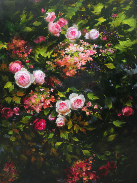 , 'Roses and Hydrangeas,' 2017, Gallery Russia