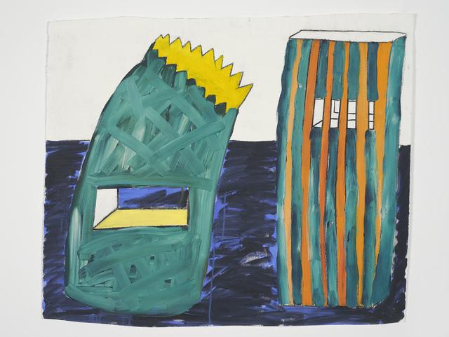 , 'Paper Bag Buildings,' 1998, Hollybush Gardens