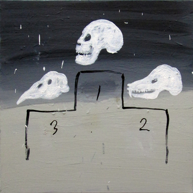 , 'Three Skulls,' 2014, Freight + Volume