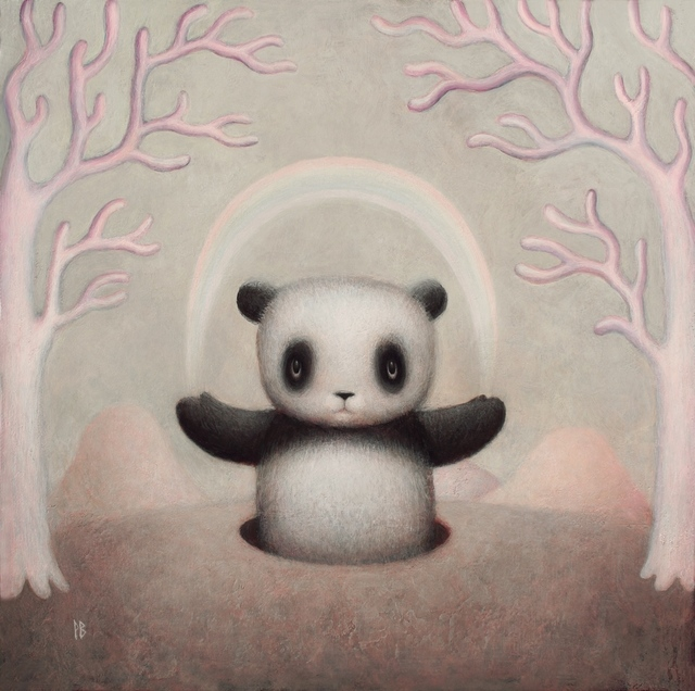 , 'Planet Panda,' 2017, Flower Pepper Gallery
