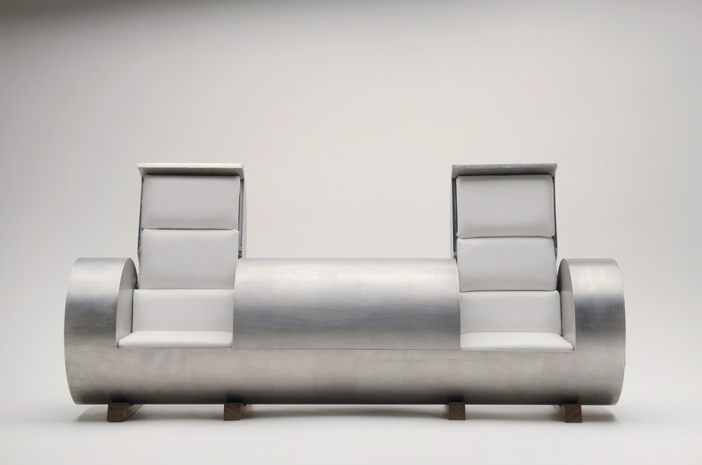 Cloche Sofa stainles steel 3 opening model