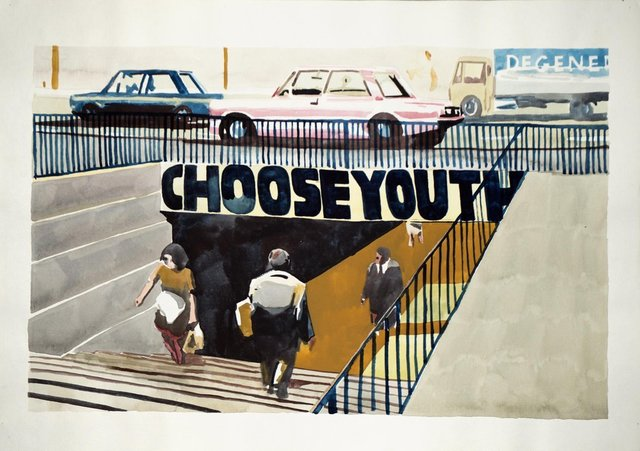", '""CHOOSE YOUTH"",' 1993, Wentrup"