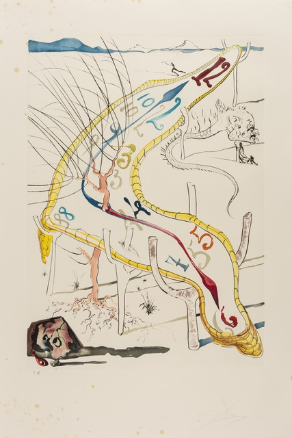Salvador Dalí, 'La Conquete du Cosmos (M & L 643-645, 648-650; Field 74-12 B,C,E,F,I &K)', 1974, Print, The portfolio of six etchings with aquatint and lithograph printed in colours, on Arches paper, Forum Auctions