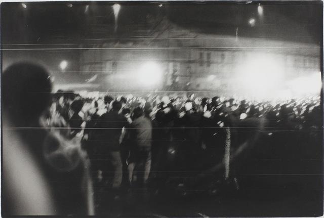 , 'Demonstration, Yokosuka, Kanagawa (Resistance series),' 1964, MIYAKO YOSHINAGA