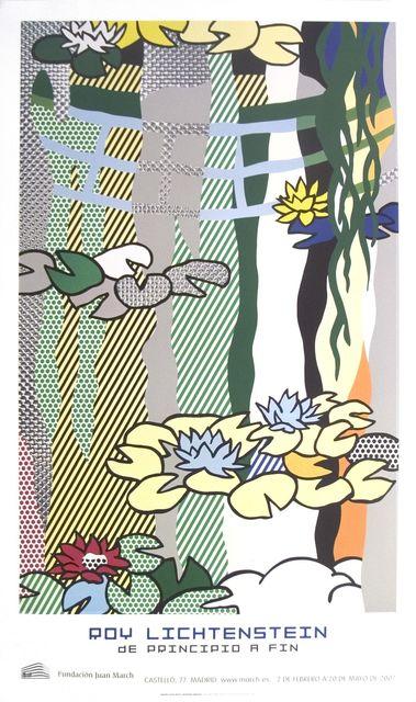 Roy Lichtenstein, 'Water Lilies with Japanese Bridge', 2007, ArtWise