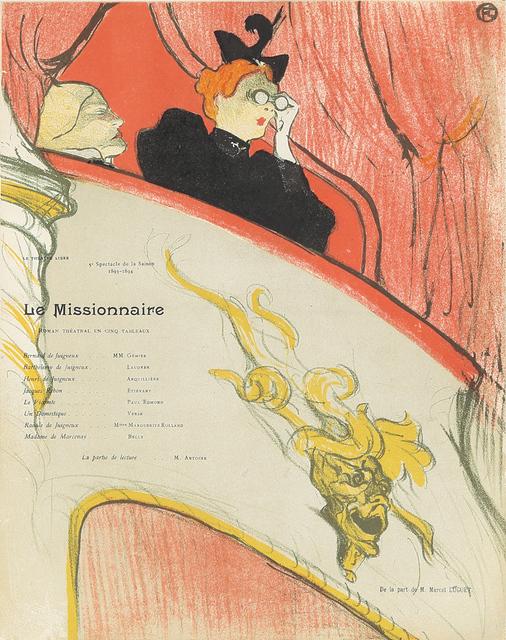 , 'La Loge au Mascaron Doré / Le Missionnaire,' 1894, Rennert's Gallery