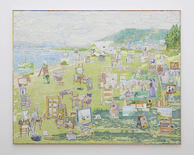 , 'Georges Seurat's Studio,' 2018, Tomio Koyama Gallery