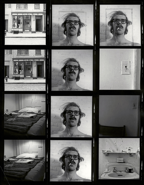 , 'Untitled (Self-Portrait/Contact Sheet),' 2013, Adamson Gallery