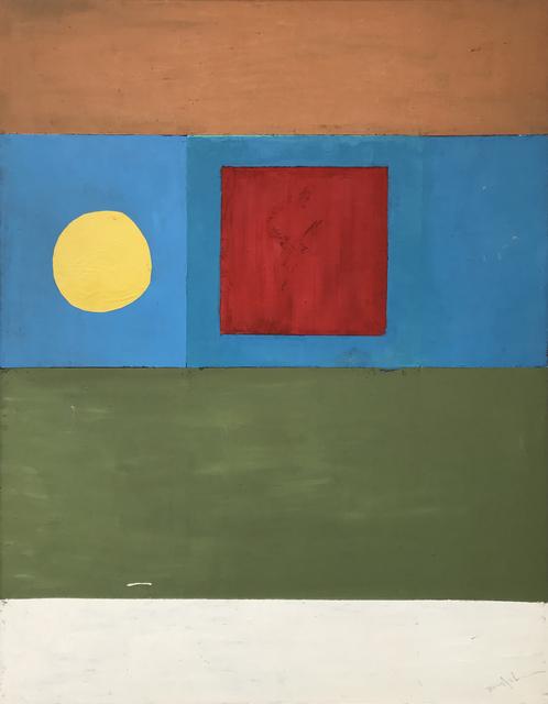, 'Dark Noon,' 1960-1969, Modern West Fine Art
