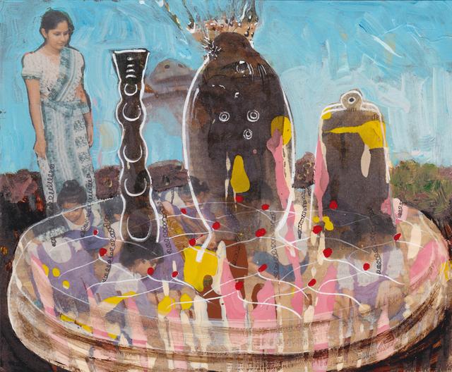 , 'Krippe in Delhi / Crib in Delhi,' 2008, Monica De Cardenas