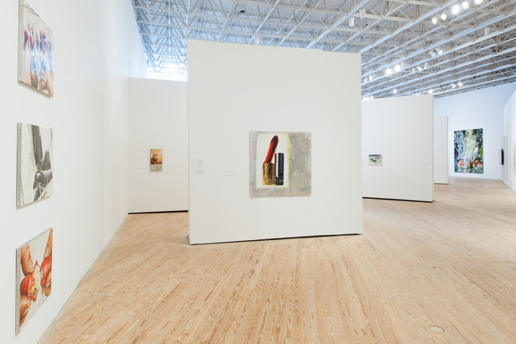 """Installation view of """"Marilyn Minter: Pretty/Dirty"""" at the Contemporary Arts Museum Houston, 2015. Photo: Paul Hester. © Contemporary Arts Museum Houston."""