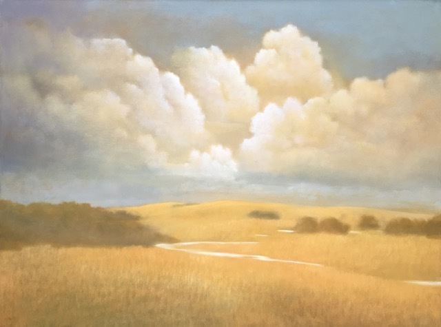 Donna McGinnis, 'Late Summer Storm / 2591', 2019, Painting, Oil on Canvas, Andra Norris Gallery