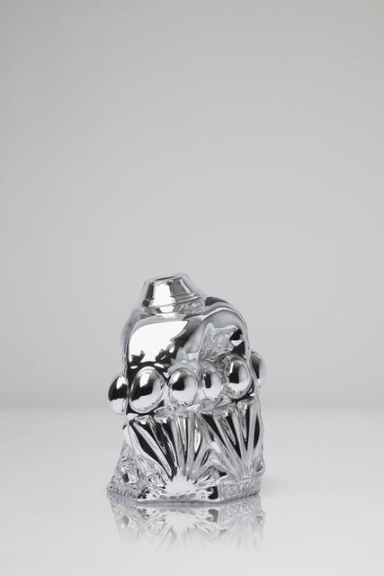 , 'Titel Clam Print, clear metallic,' 2018, CFHILL