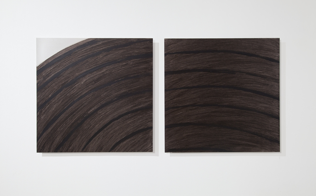 , 'Non Painting Painting (diptych),' 2012, Art Mûr