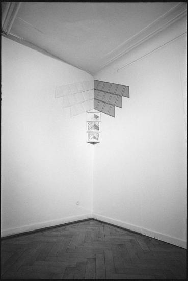 , 'Volevo possedere quello spazio,' 1977, Studio Dabbeni