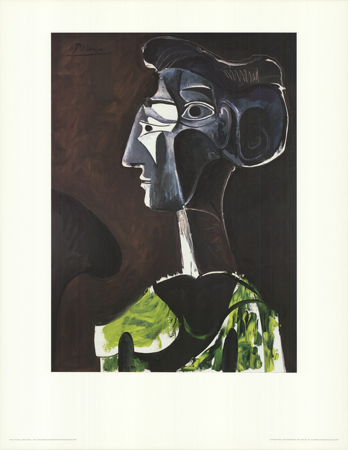 Pablo Picasso, 'Grand Profil (no text)', 1986, Posters, Offset Lithograph, ArtWise