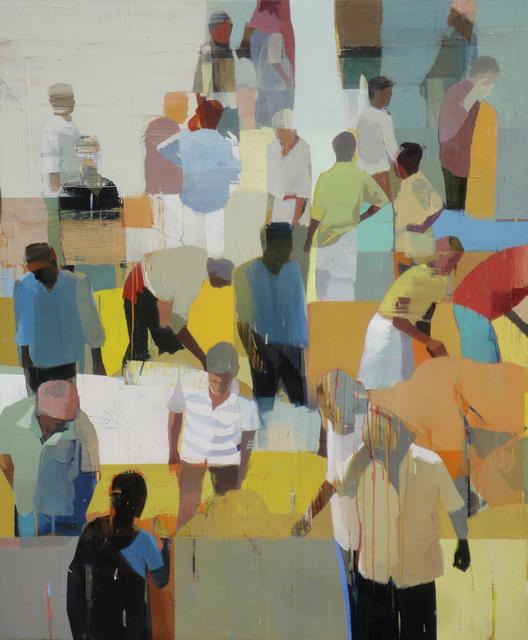 , 'Market,' 2015, Andrea Schwartz Gallery