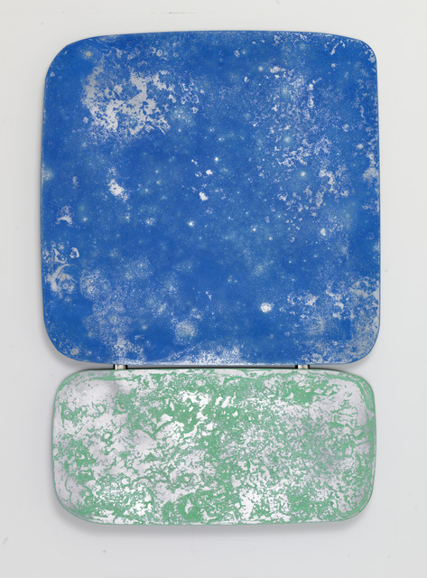 , 'Some kinda blue over some kinda green,' 2019, Leila Heller Gallery