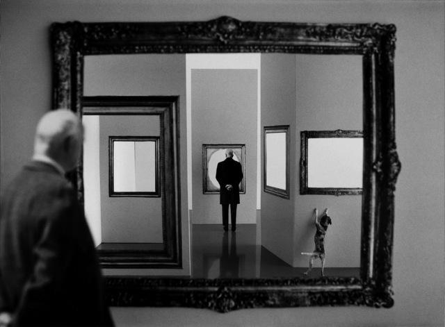 , 'At the museum,' 1999, Galleria del Cembalo