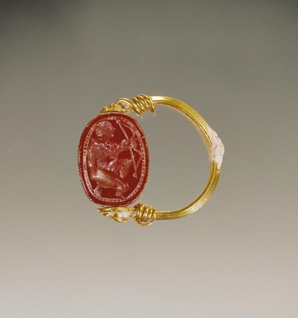 'Scarab',  late 5th century B.C., J. Paul Getty Museum