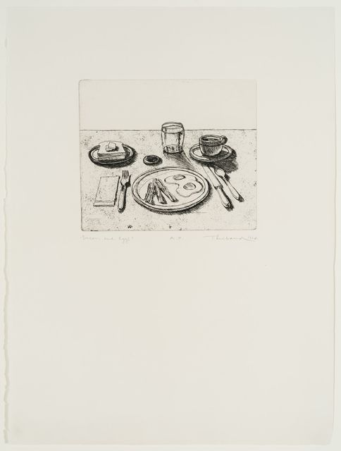, 'Bacon and Eggs (from Delights),' 1964, Allan Stone Projects