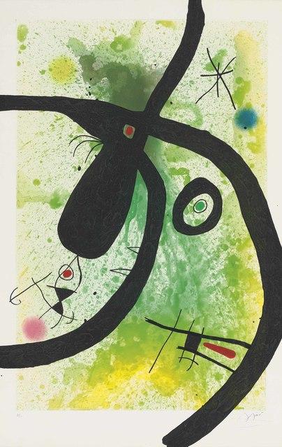 Joan Miró, 'Le Chasseur de Pieuvres', 1969, Zeit Contemporary Art