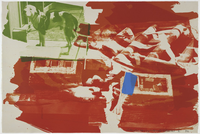 Robert Rauschenberg, 'Rust Pursuit', 1992, Print, 4 color lithograph, Gemini G.E.L.