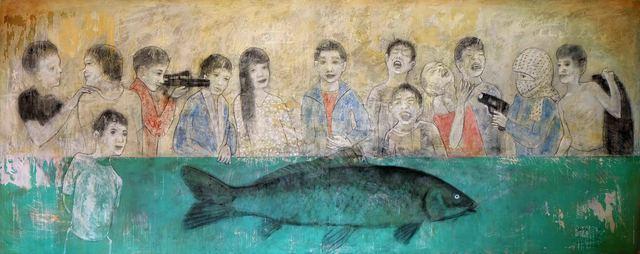 , 'Last Supper,' 2018, al markhiya gallery