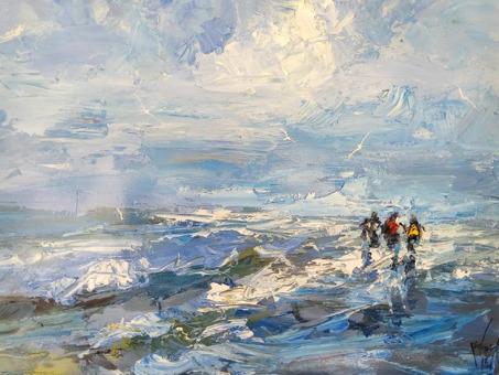, 'Blue Weather,' 2018, Nicholas Roman Fine Art