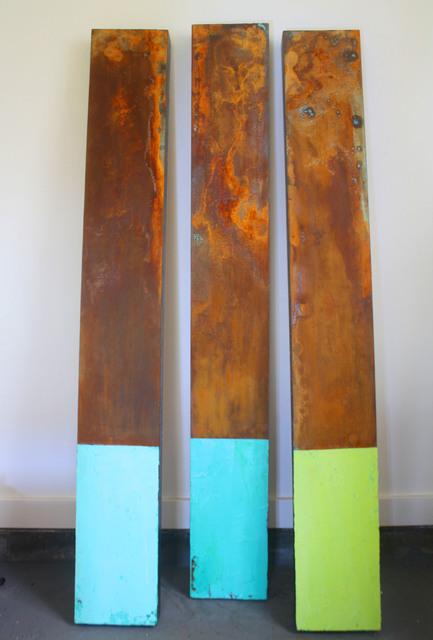 , 'Marine Triptych,' 2017, Rice Polak Gallery