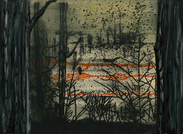 ", '""Pond Painting"",' 2000, Michael Werner Gallery"