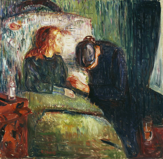 , 'The Sick Child,' 1907, Museo Thyssen-Bornemisza