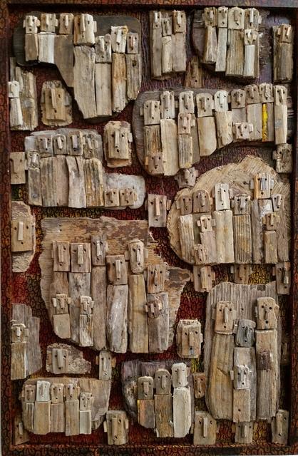 Marc Bourlier, 'I'll Commence ou le ciel no 3 ', 2019, Siger Gallery